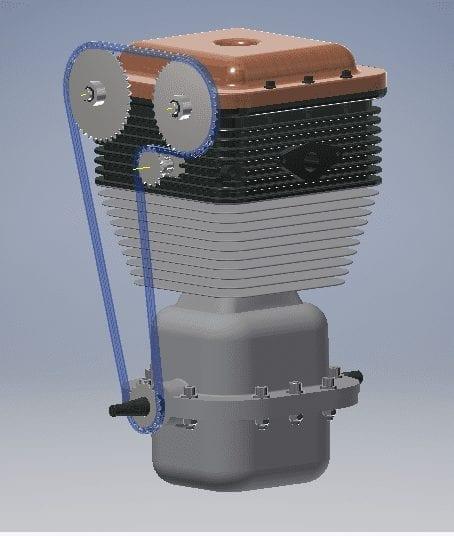 Captura motor diseño 3d