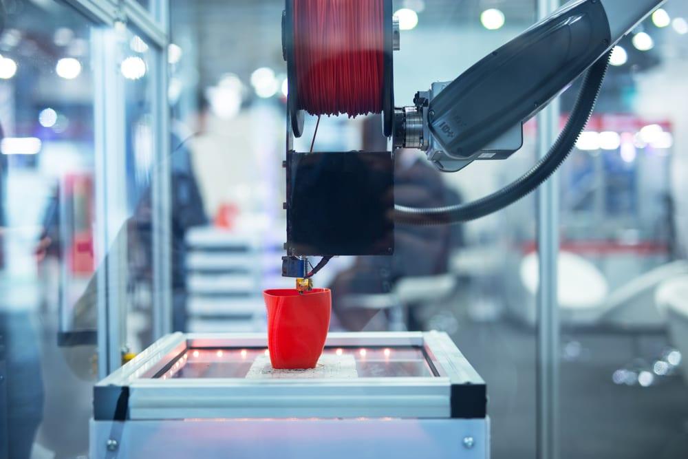 Máquina de impresión 3D