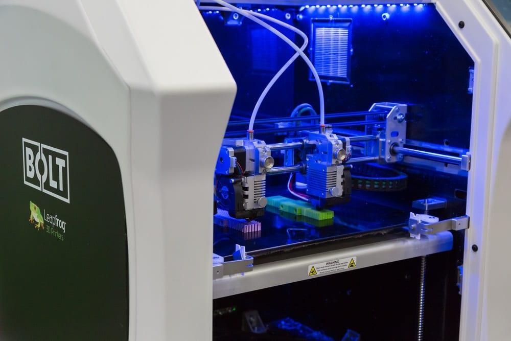 Impresión 3D en 20 segundos