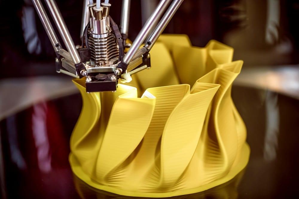 máquina de impresión tridimensional - funcionamiento de impresora 3d