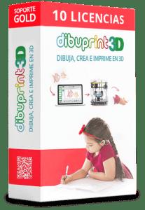 Licencias Dibuprint3D Educación