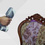 Escaner 3D Color SCANTECH iReal 2S escaneando mueble