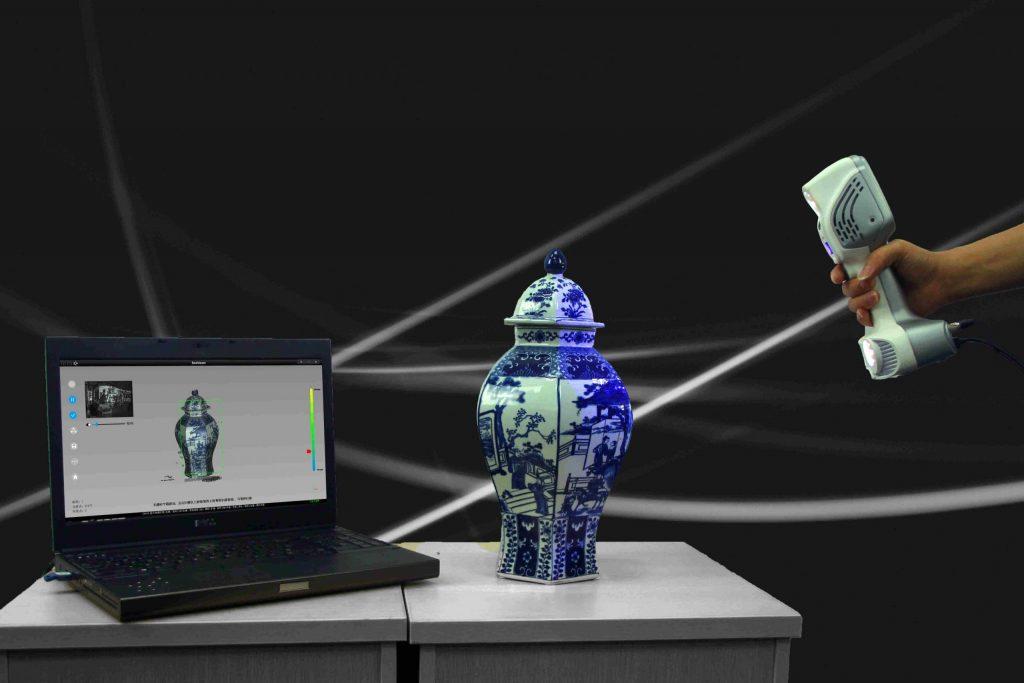 Escaner 3D Color SCANTECH iReal 2S escaner ceramica