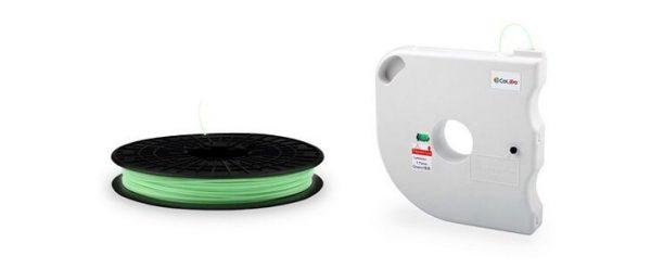 Filamento PLA Colido Luminoso 1.75mm 1 kg Verde