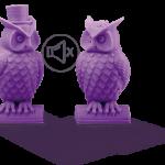 Impresora 3D COLIDO 3.0 WiFi buhos impresos