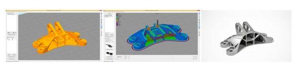 Impresora 3D TUMAKER detalles Big Foot 200 350 500