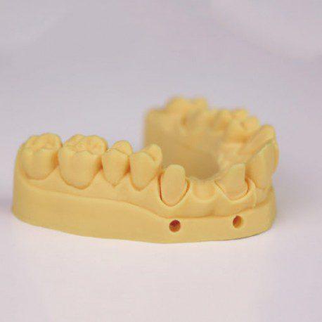 Resina amarillo arena para moldes dentales 500ml odontologia