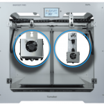 cabezal Impresora 3D TUMAKER Pro DUAL (Direct Drive + Pellet)
