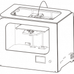 dibujo de Impresora 3D COLIDO 3.0 WiFi