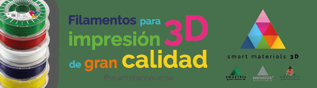 smart materials 3D banner